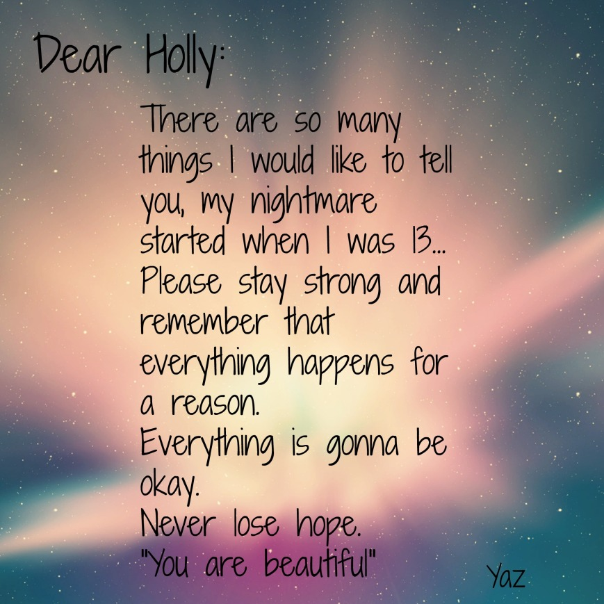 Dear Holly.